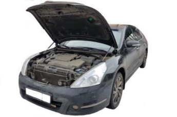 Газовый упор капота Nissan Teana J32 (08-14г.в.)