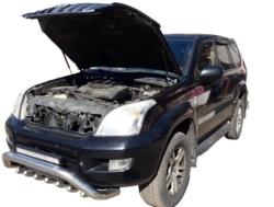 Газовый упор капота Toyota Land Cruiser Prado 120