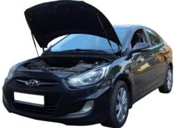 Газовый упор капота Hyundai Solaris 1 (11-14 г.в.)