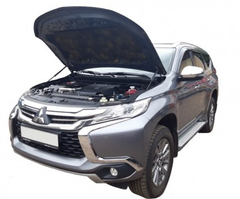 Газовый упор капота Mitsubishi Pajero Sport 3 (15-19 г.в.)
