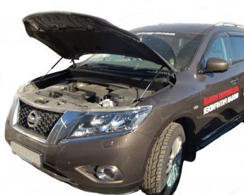 Газовый упор капота Nissan Pathfinder R52 (12-н.в.)