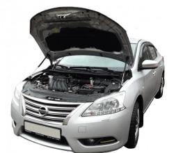 Газовый упор капота Nissan Sentra B17 (14-19г.в.)