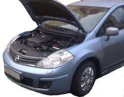 Газовый упор капота Nissan Tiida C11 (04-13г.в.)