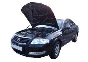 Газовый упор капота Nissan Almera B10 (06-13г.в.)