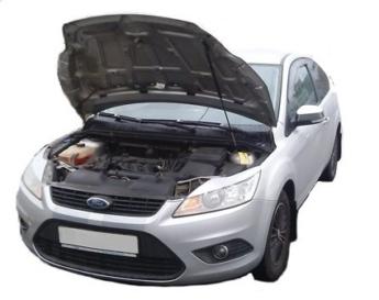 Газовый упор капота Ford Focus 2 рестайлинг (08-11г.в.) (1 шт.)