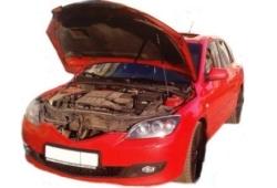 Газовый упор капота Mazda 3 BK (03-09 г.в.)