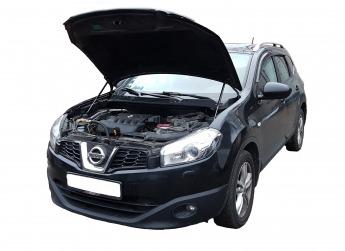 Газовый упор капота Nissan Qashqai J10 (06-14г.в.)
