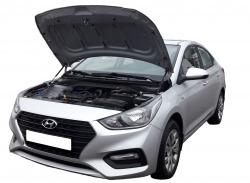 Газовый упор капота Hyundai Solaris 2 (17-н.в.)