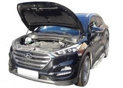 Газовый упор капота Hyundai Tucson 3 (15-н.в.)