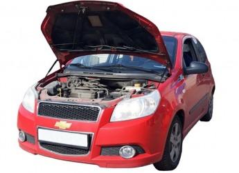 Газовый упор капота Chevrolet