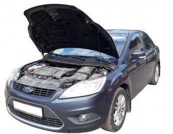 Упор капота Ford Focus 2 рестайлинг