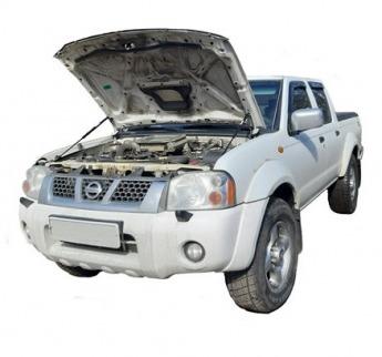 Газовый упор капота Nissan NP 300 (08-15 г.в.)