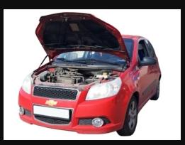 Газовый упор капота Chevrolet Aveo T250